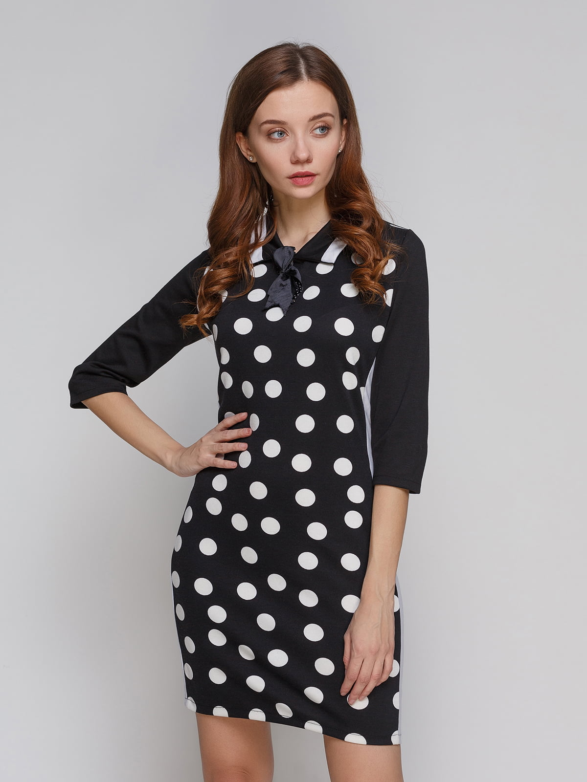 Платье черно-белое | 5266094