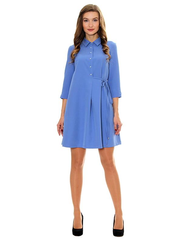 Платье голубое | 5262675