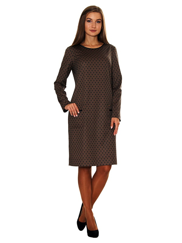 Платье коричневое   5262781