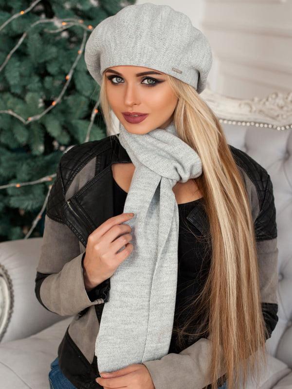 Комплект: берет и шарф   5270766