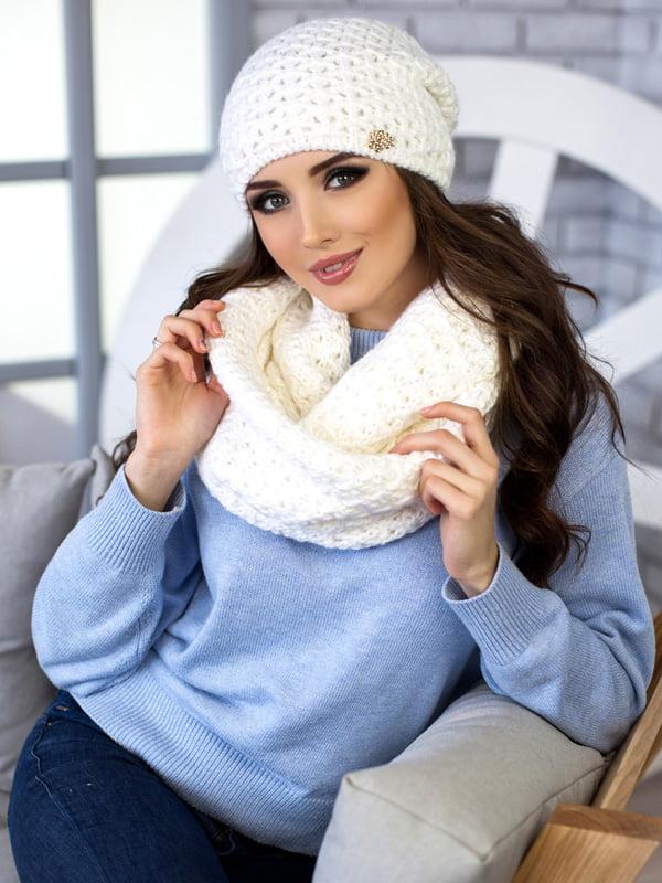 Комплект: шапка и шарф-снуд | 5270807