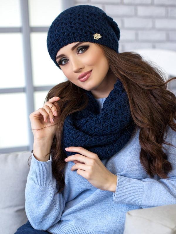 Комплект: шапка и шарф-снуд | 5270808