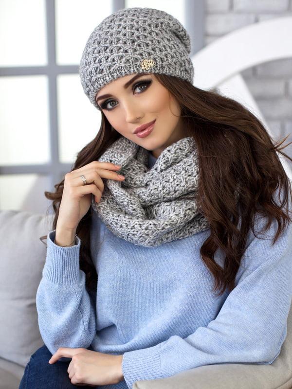 Комплект: шапка и шарф-снуд | 5270810