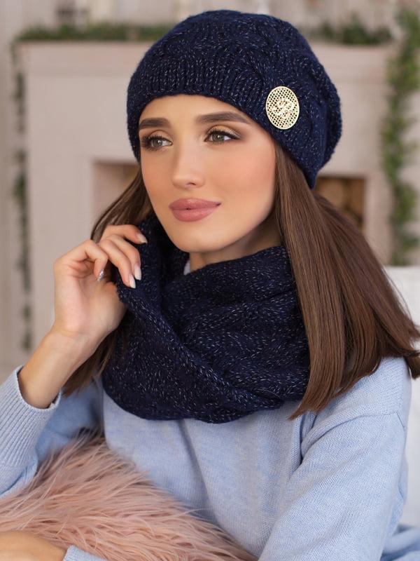 Комплект: шапка и шарф-снуд   5270892