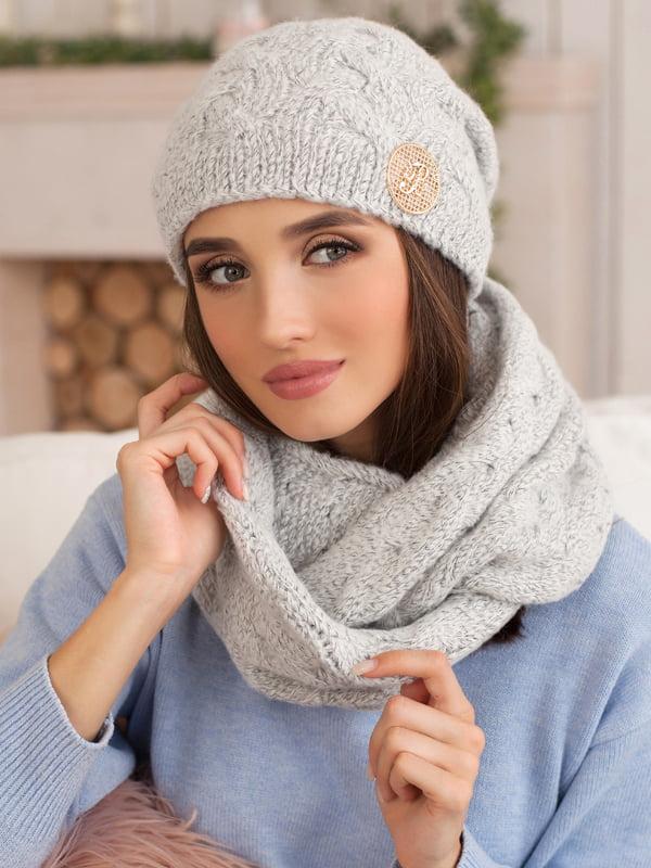 Комплект: шапка и шарф-снуд | 5270895