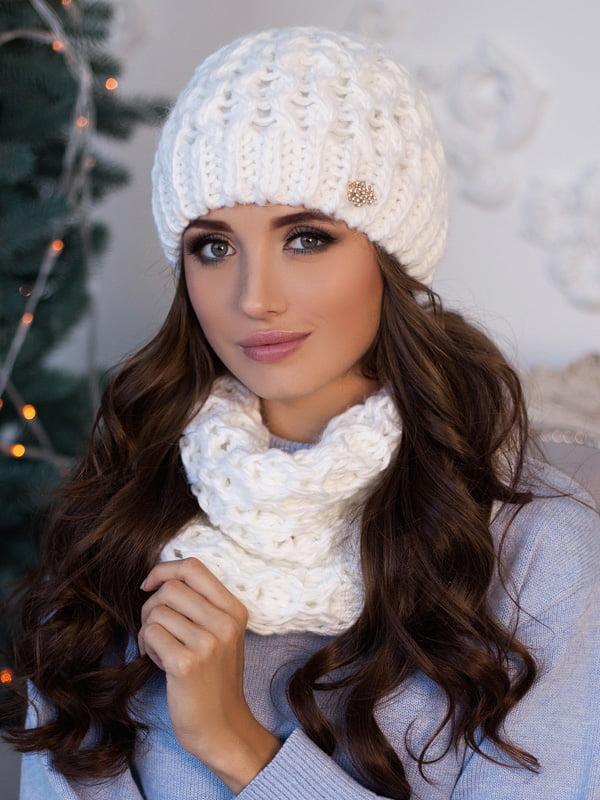 Комплект: шапка и шарф-хомут   5270945