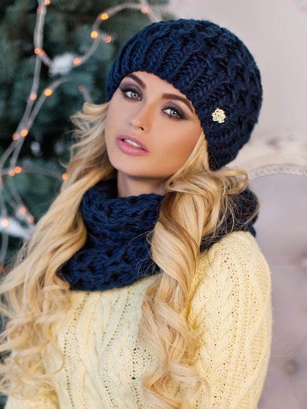 Комплект: шапка и шарф-хомут   5270946