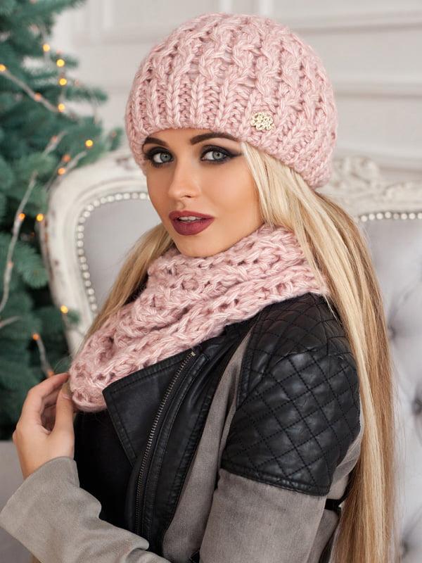 Комплект: шапка и шарф-хомут | 5270947