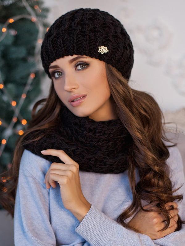 Комплект: шапка и шарф-хомут | 5270951
