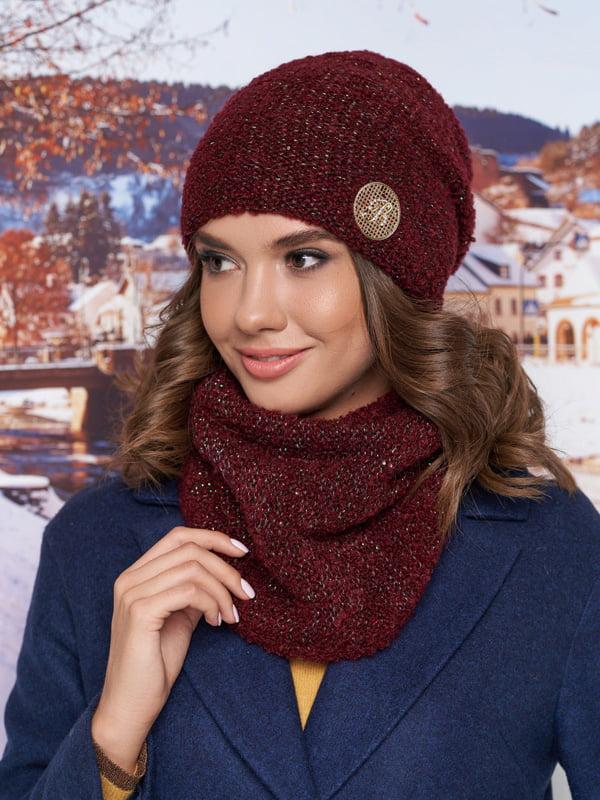 Комплект: шапка и шарф-хомут   5271045