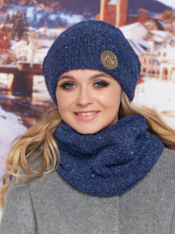 Комплект: шапка и шарф-хомут | 5271047