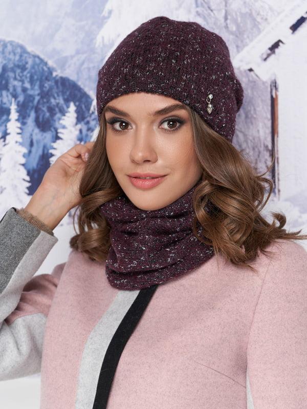 Комплект: шапка та шарф-хомут | 5271063