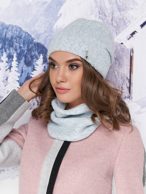 Комплект: шапка та шарф-хомут   5271064
