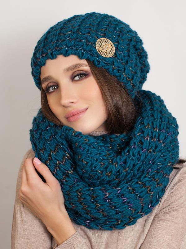 Комплект: шапка и шарф-снуд | 5270968