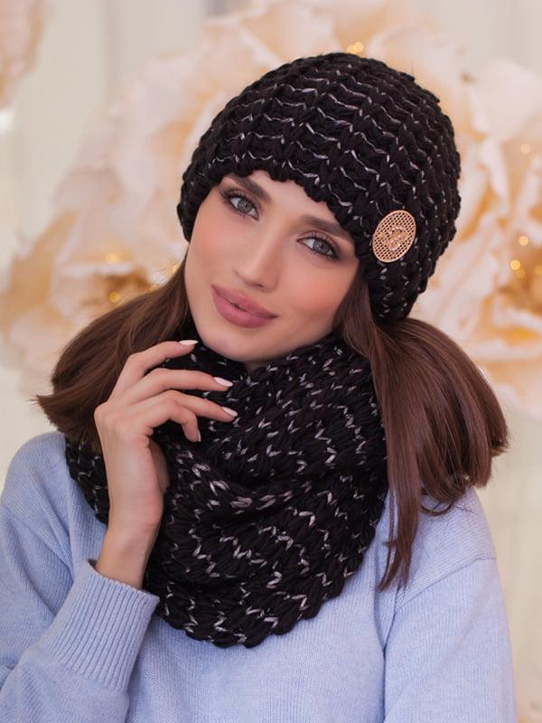 Комплект: шапка и шарф-снуд   5270977