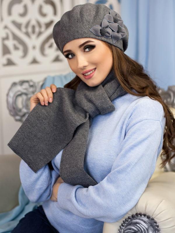 Комплект: берет и шарф | 5271072
