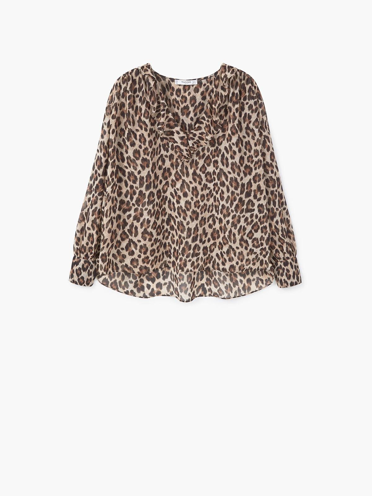 Блуза коричневая | 5186307