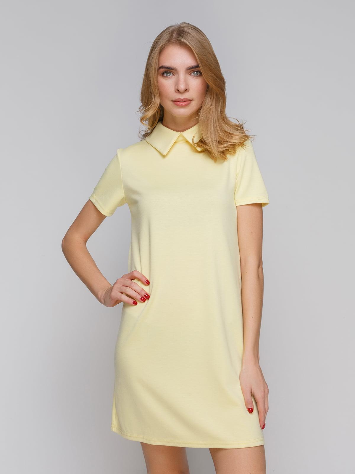 Платье желтое | 5266103