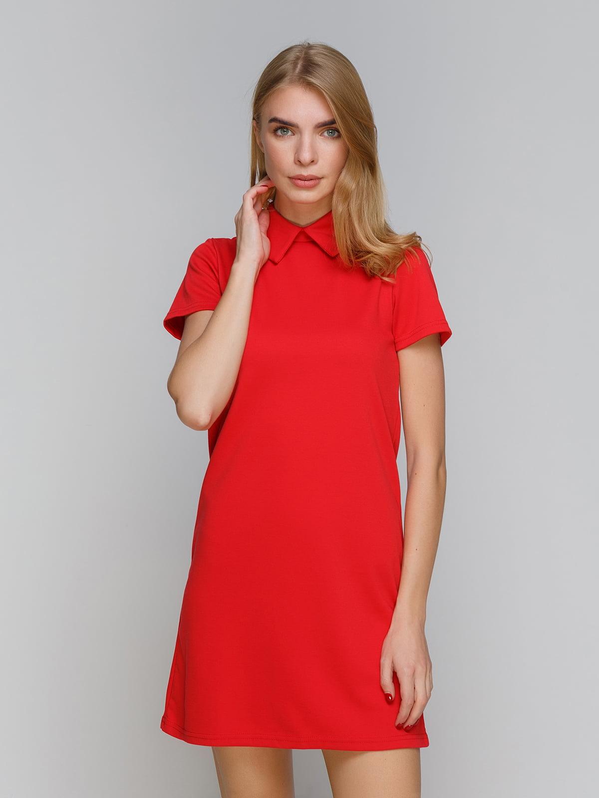 Платье красное | 5266102