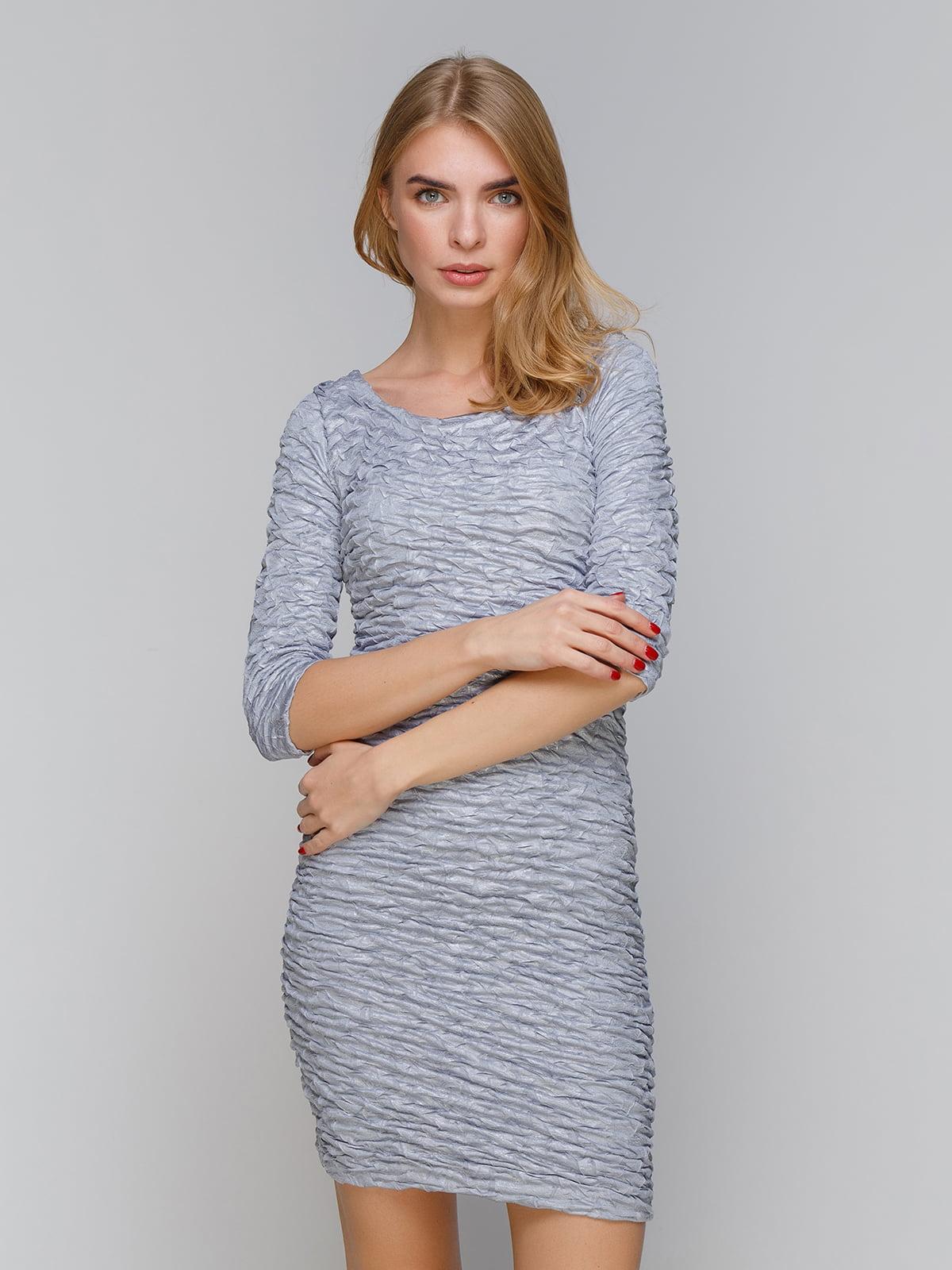 Платье серое | 5266144