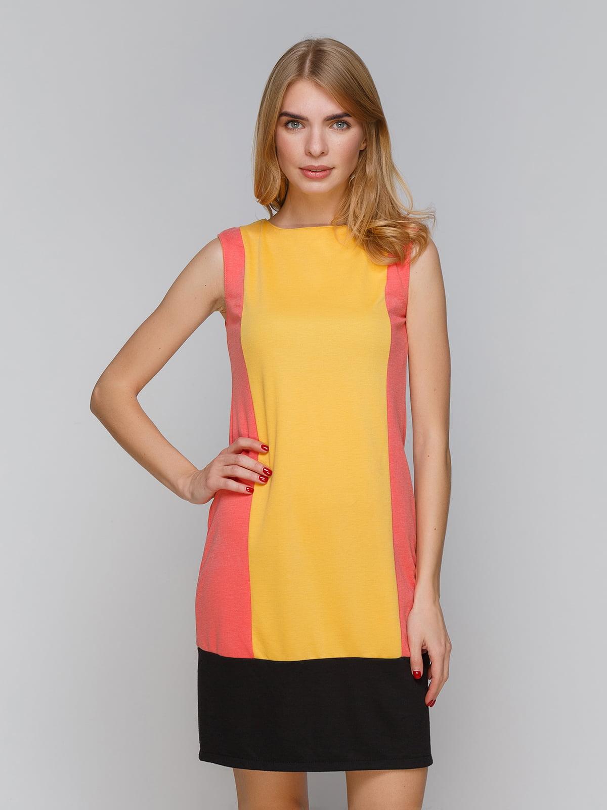 Платье трехцветное | 5266147