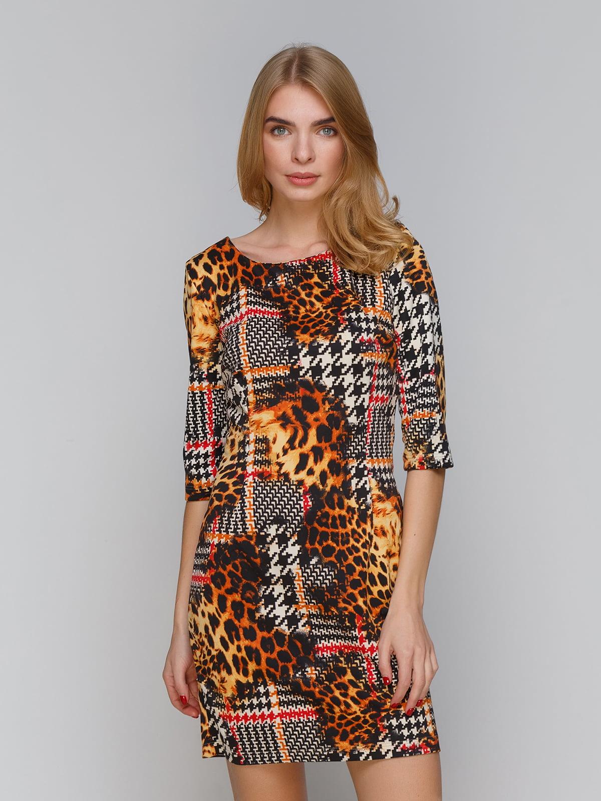 Платье в принт | 5266110