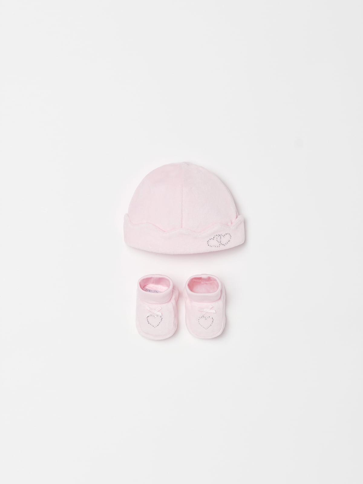 Комплект: шапка та пінетки | 5166640