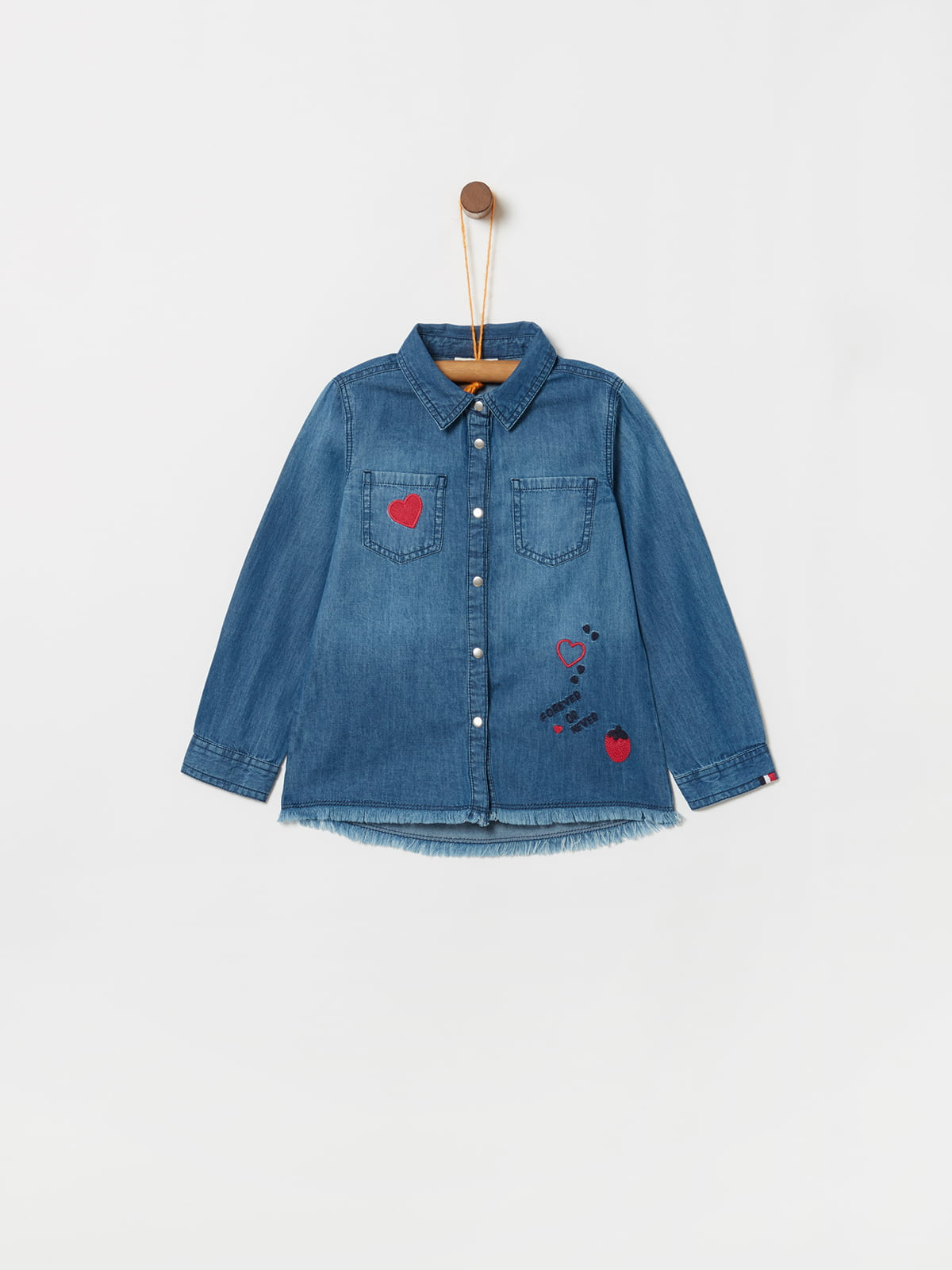 Сорочка синя   5174002