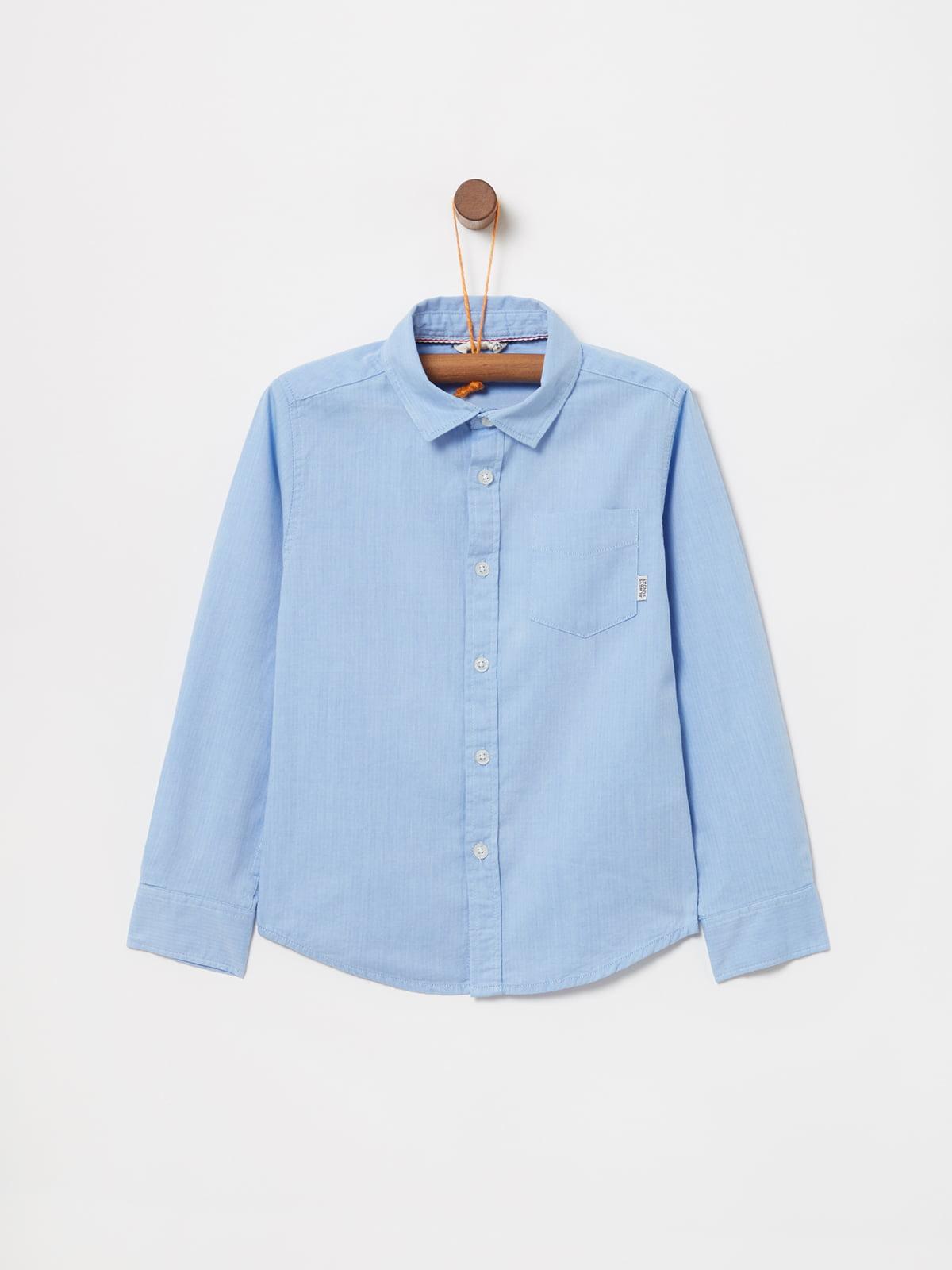 Сорочка блакитна | 5183523