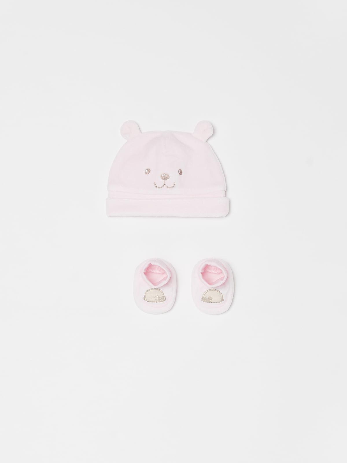 Комплект: шапка та пінетки | 5183693