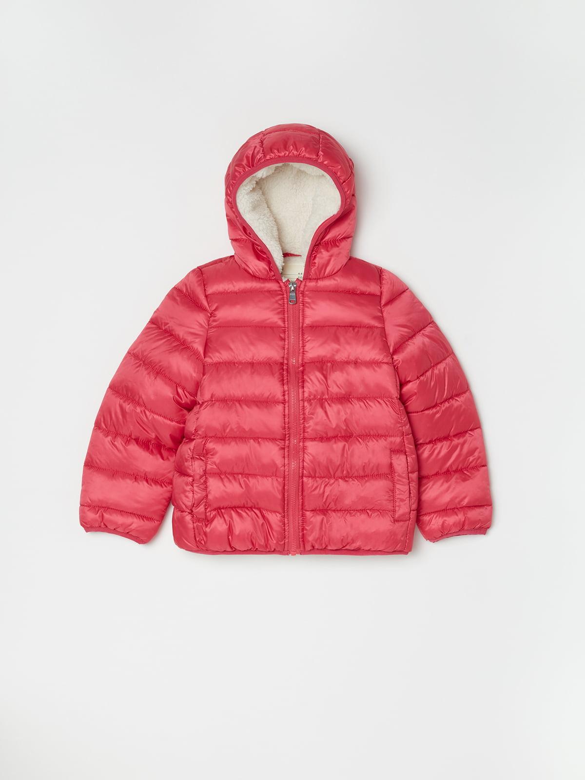 Куртка рожева | 5201090