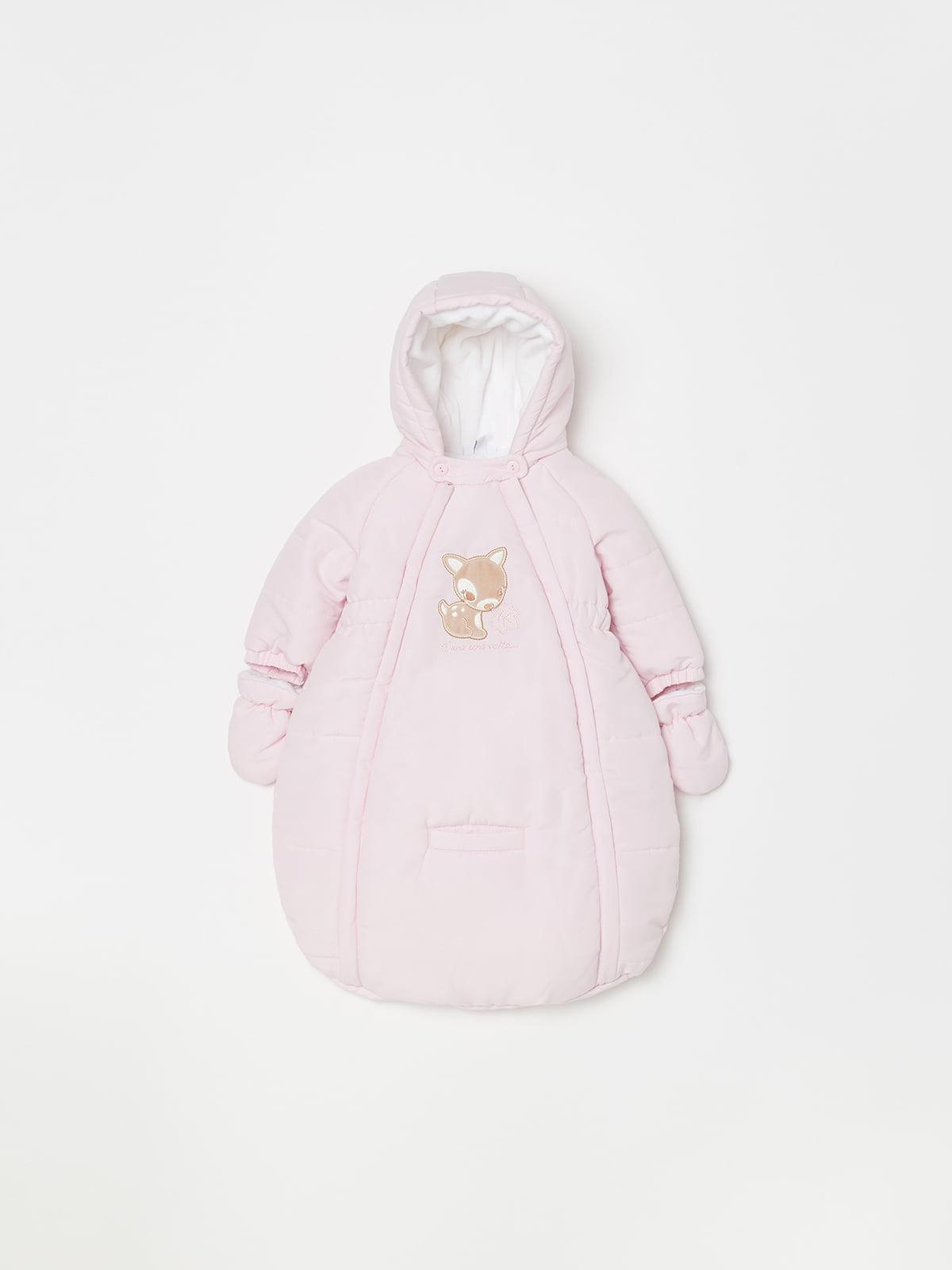 Конверт для немовлят рожевий | 5201167