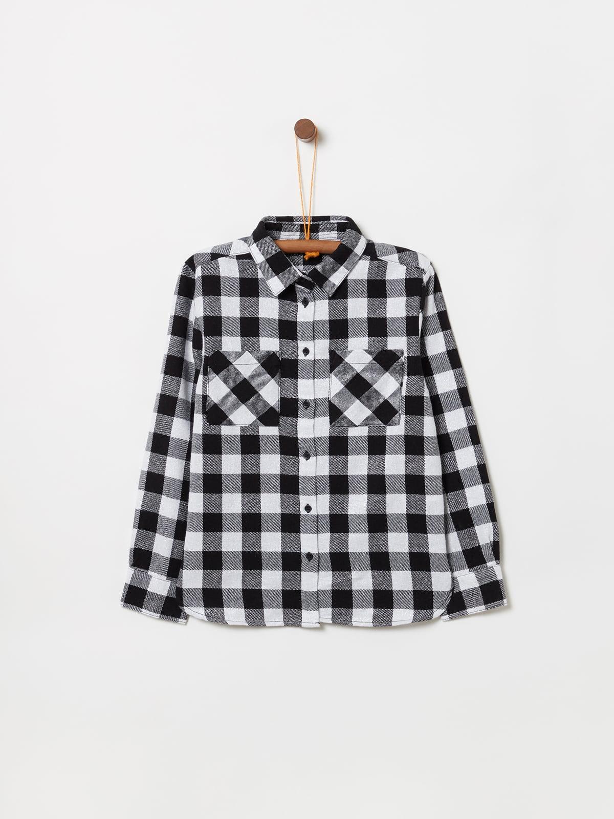 Сорочка сіро-біла | 5201269