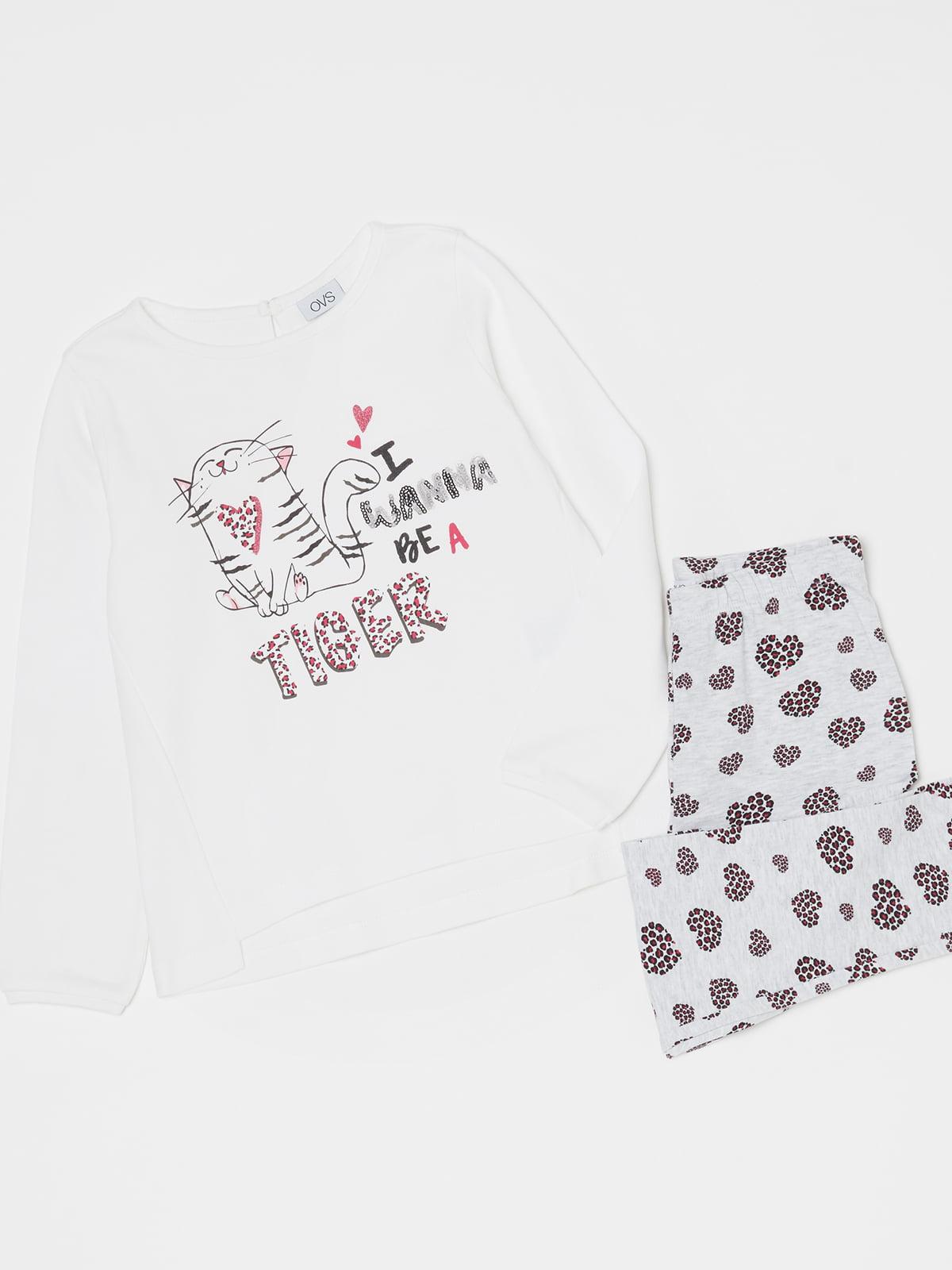 Піжама: лонгслів і штани | 5201295