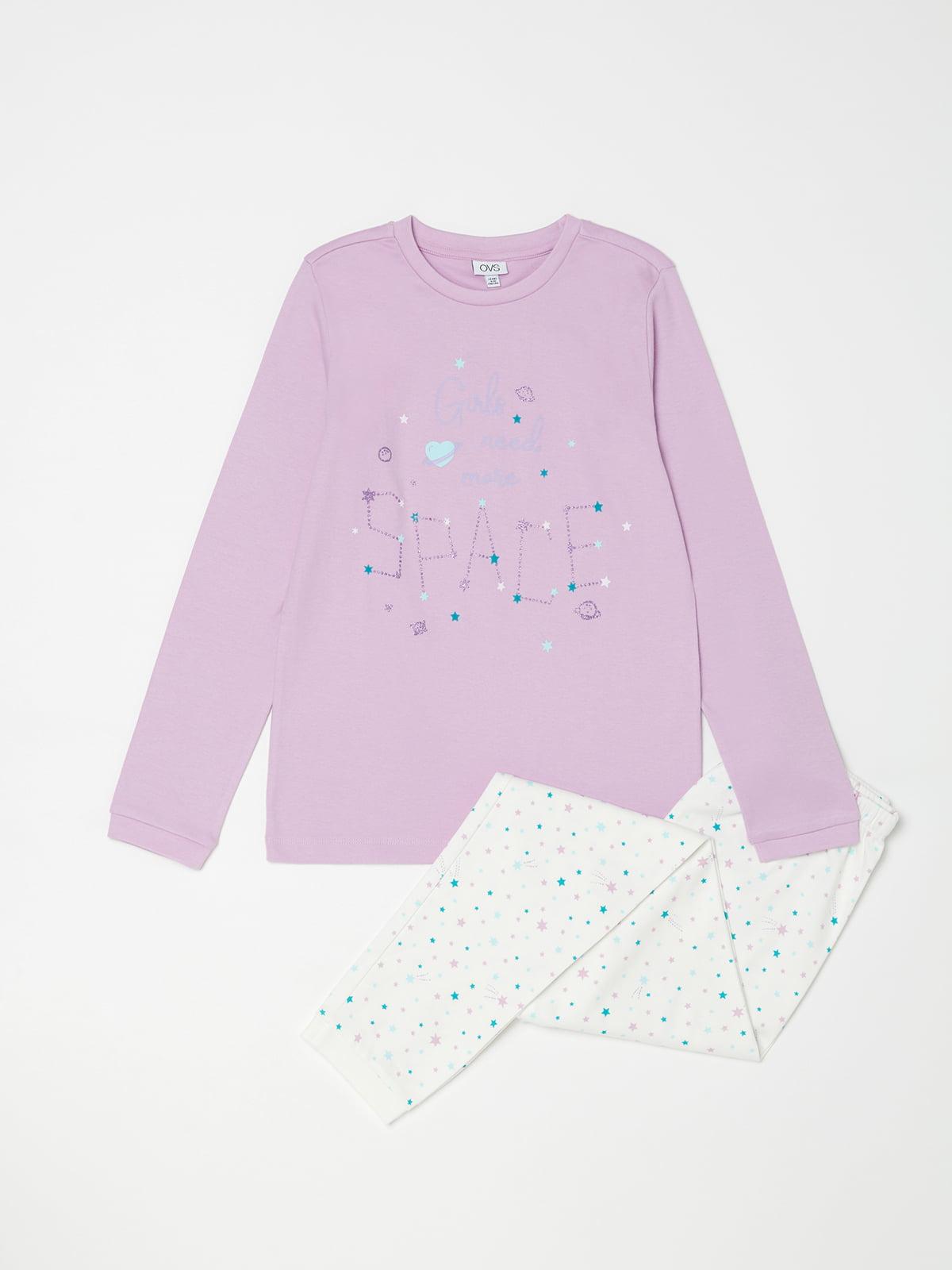 Піжама: лонгслів і штани | 5201320
