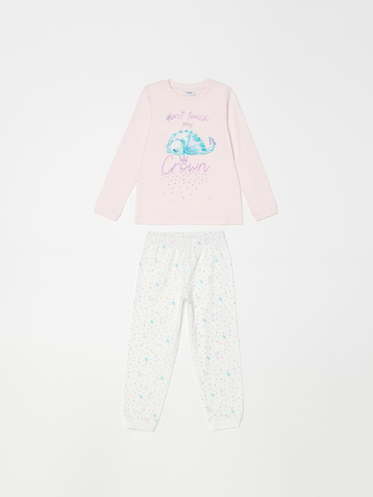 Піжама: лонгслів і штани   5201323