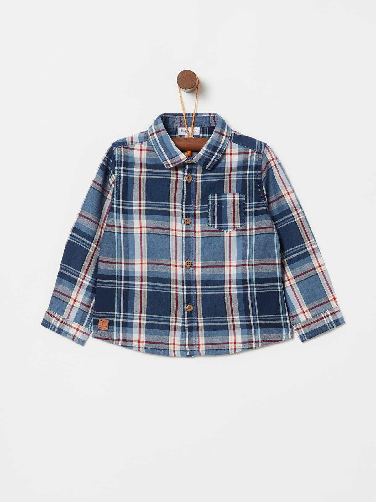 Рубашка синяя | 5229806