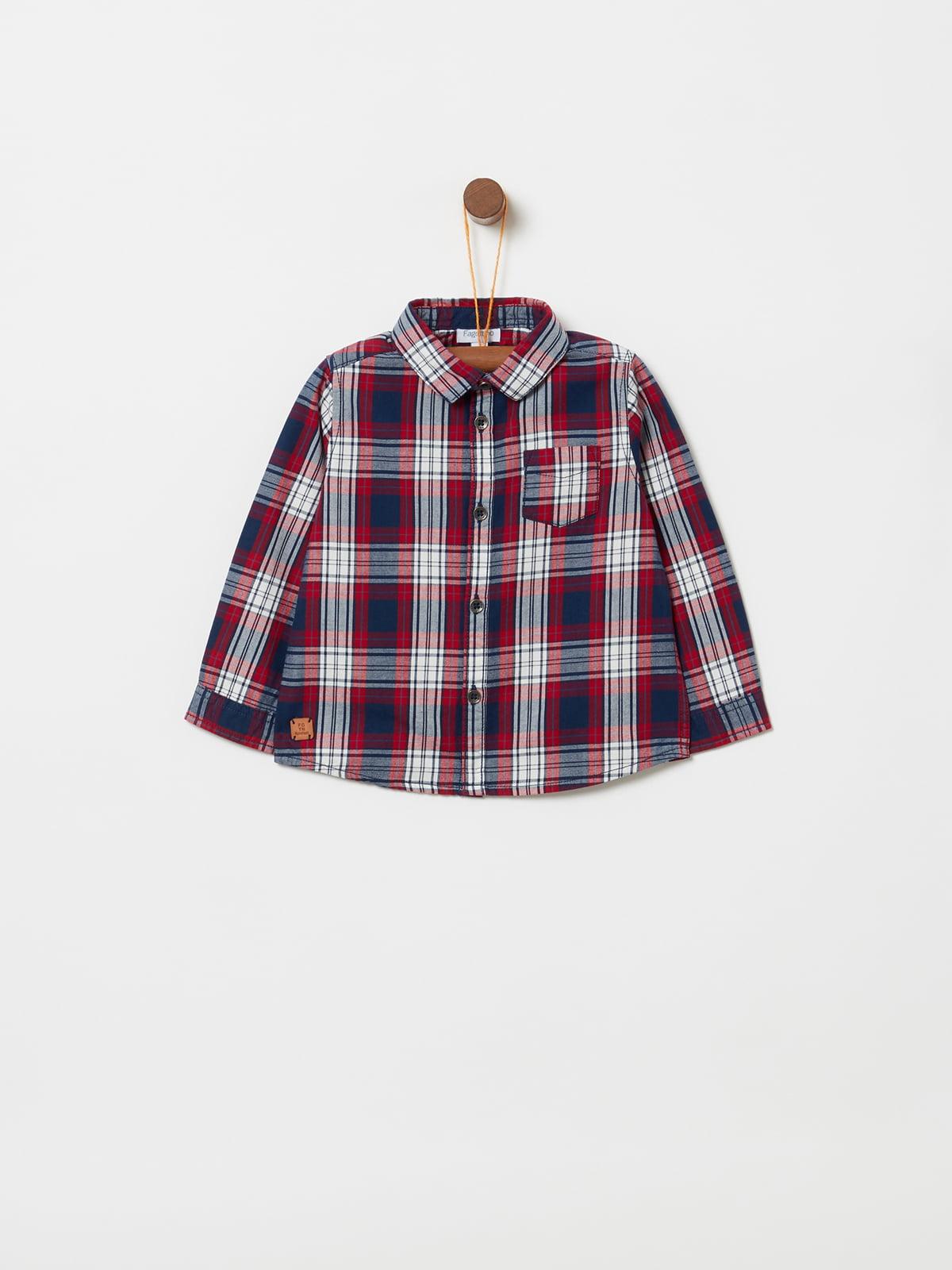 Рубашка красная | 5229807