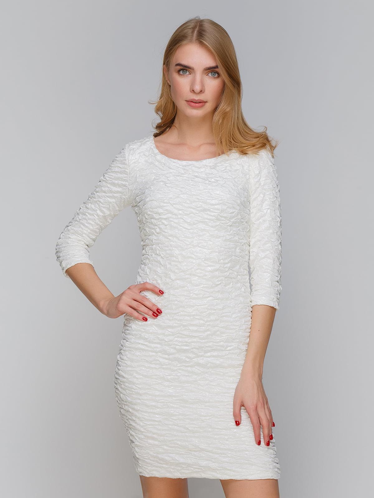Платье молочного цвета | 5266145