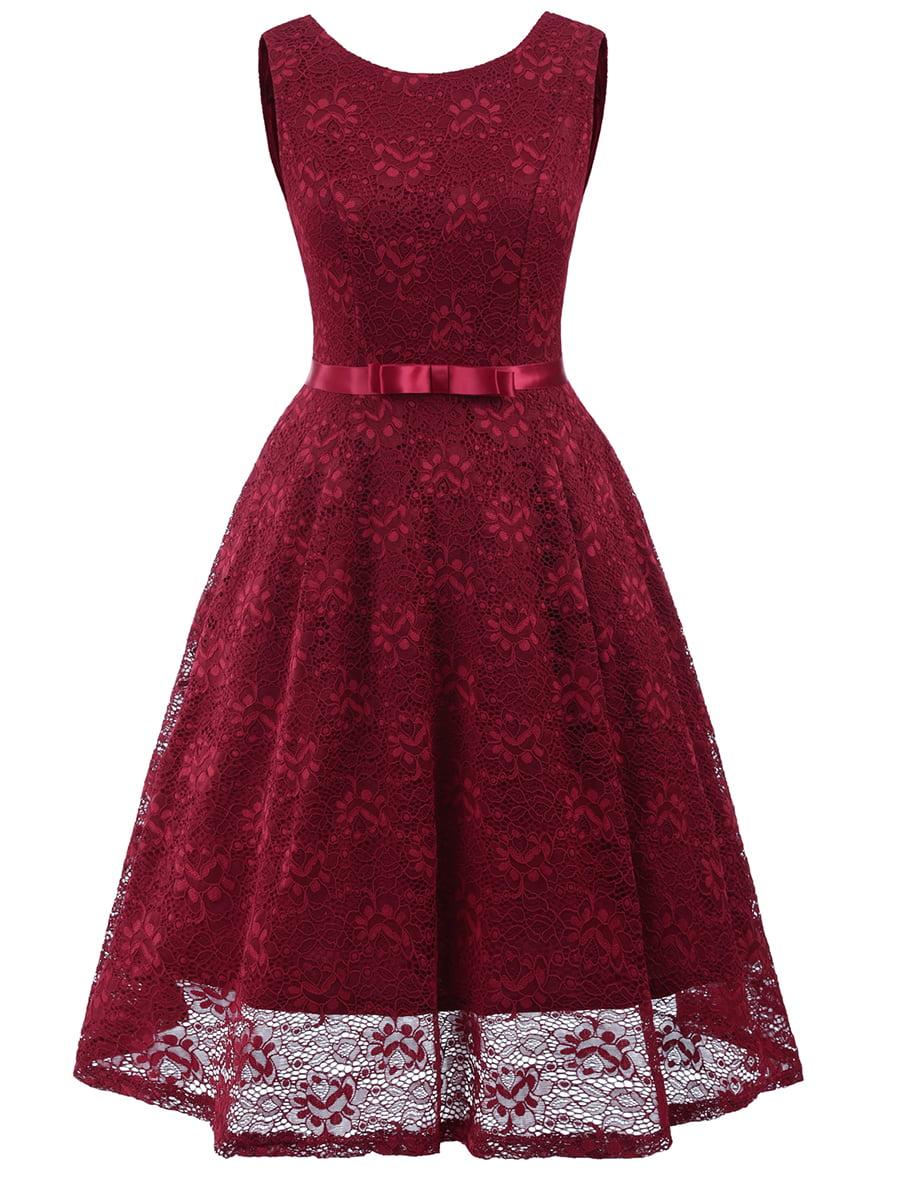 Сукня бордова | 5261482