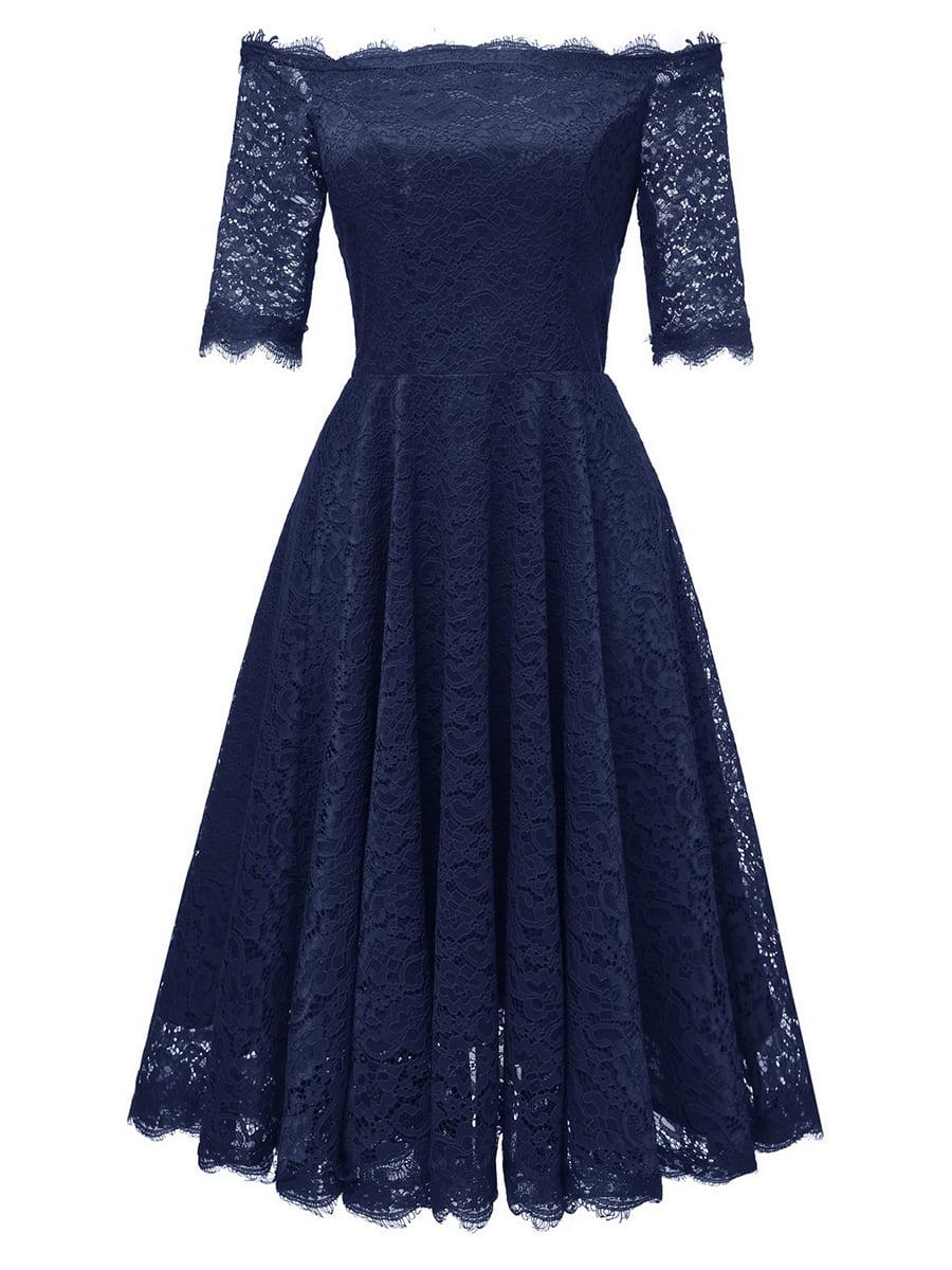 Сукня темно-синя | 5261483
