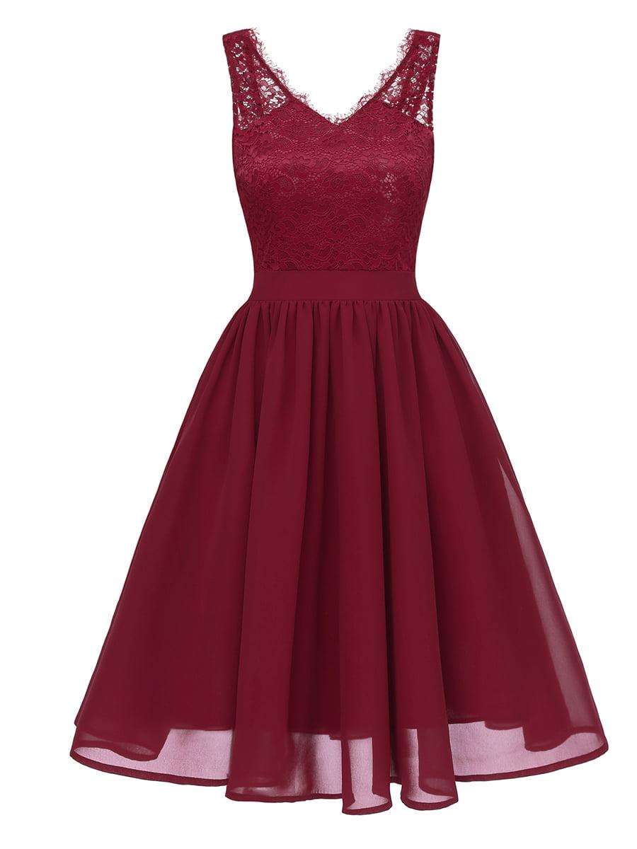 Сукня бордова | 5261489