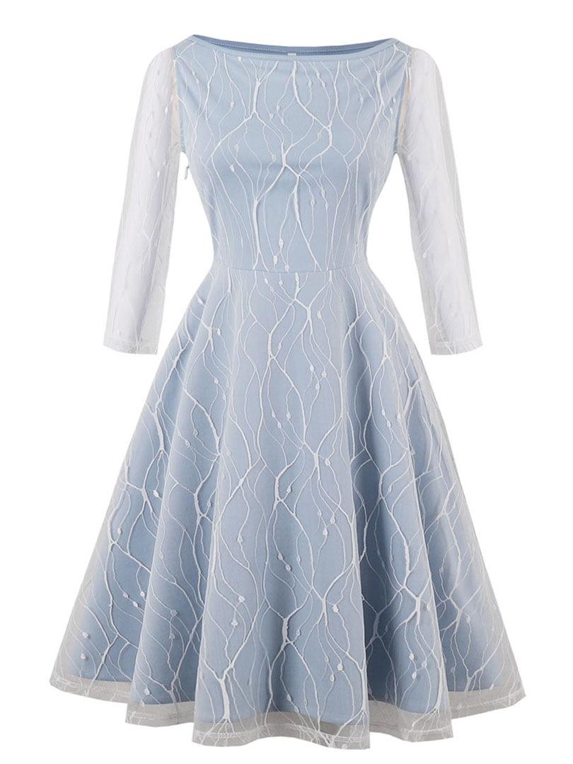 Сукня блакитна | 5261425