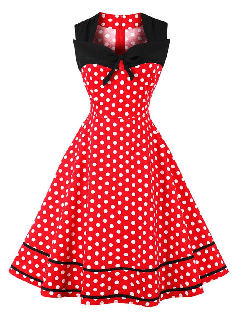 Сукня червона в горошок   5261427