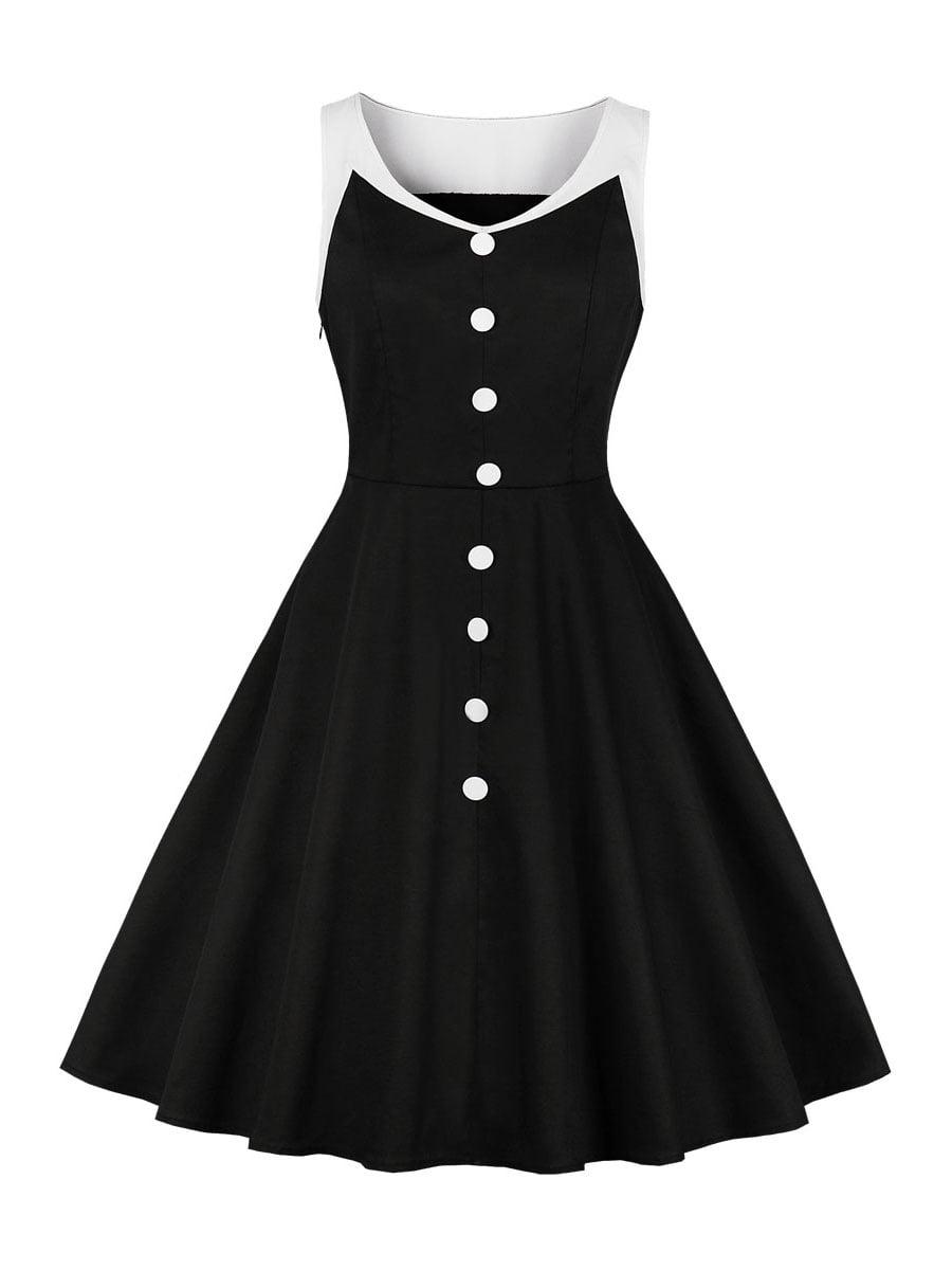 Сукня чорна з білим | 5261437