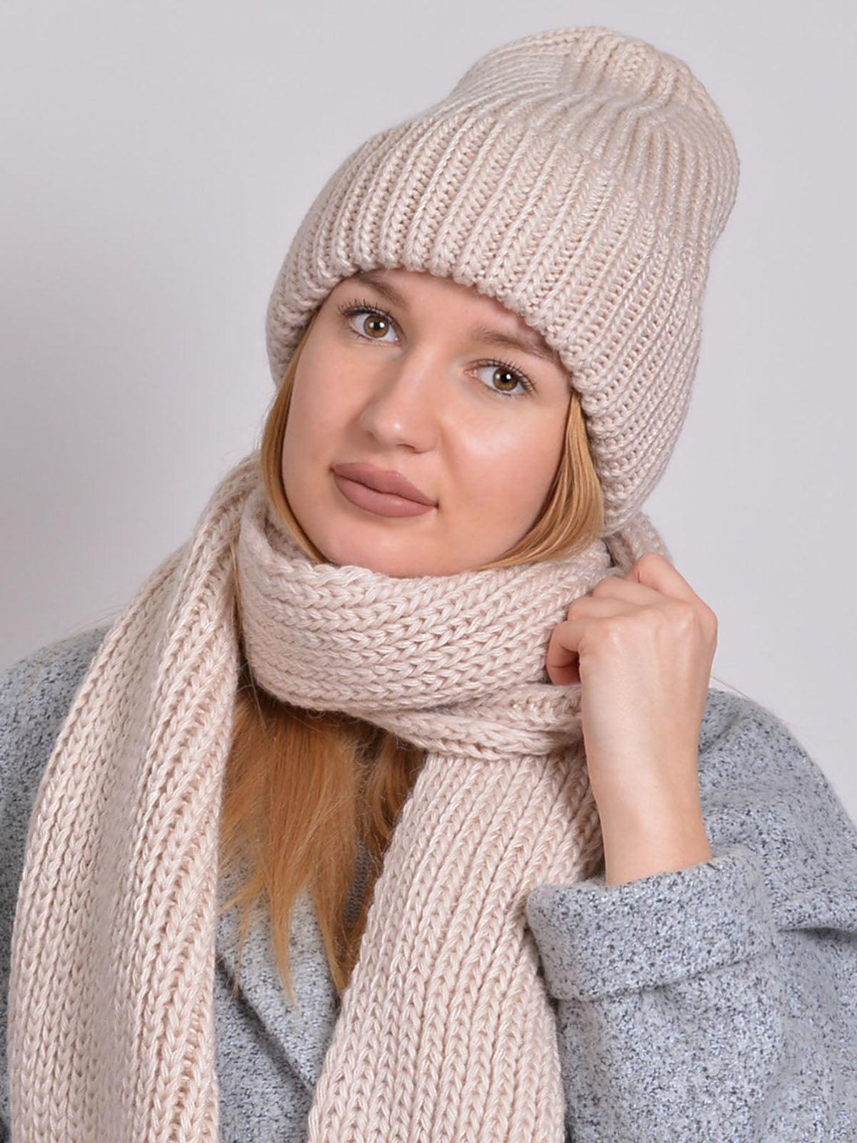Комплект: шапка і шарф | 5271853