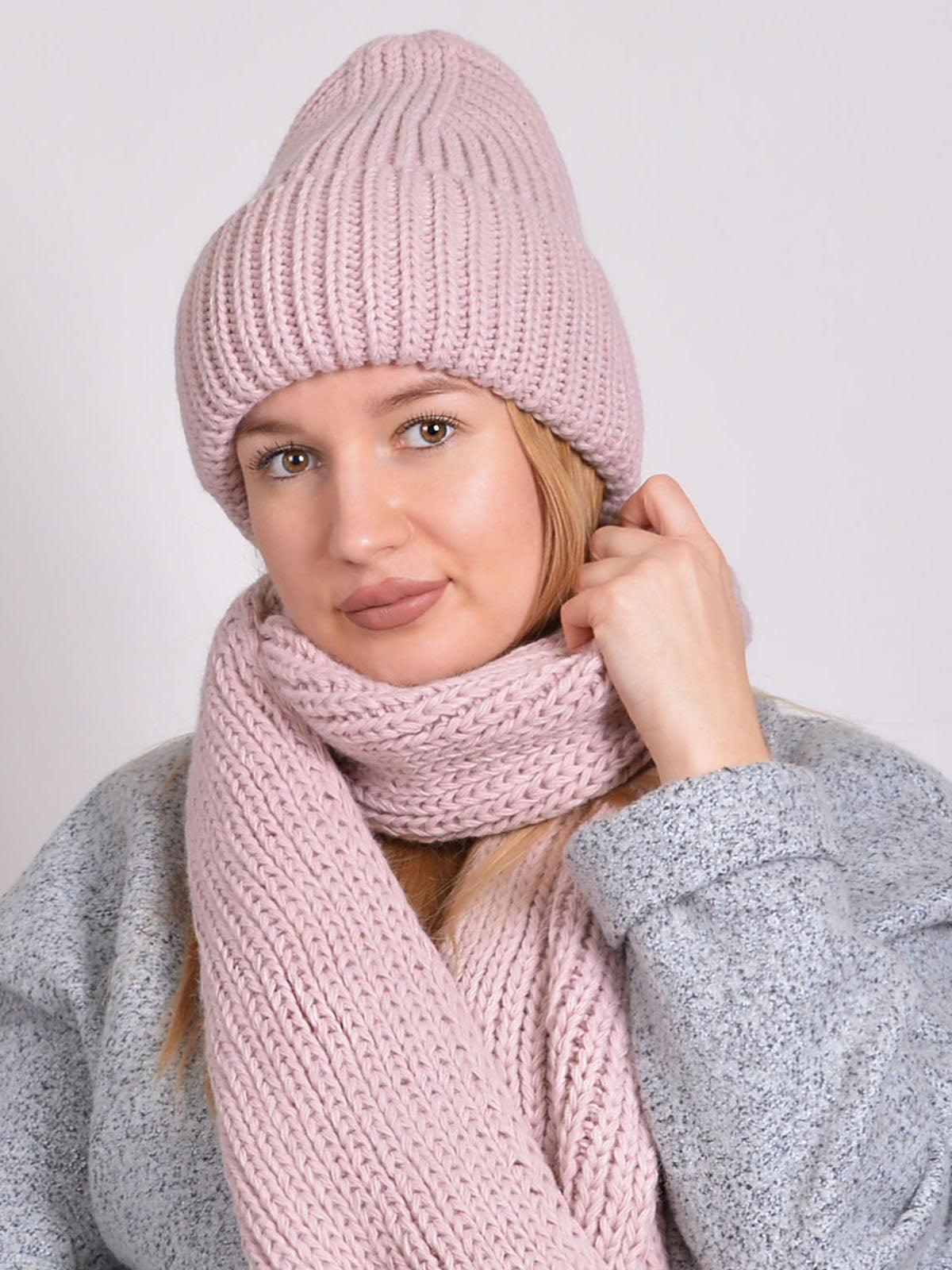 Комплект: шапка і шарф   5271855