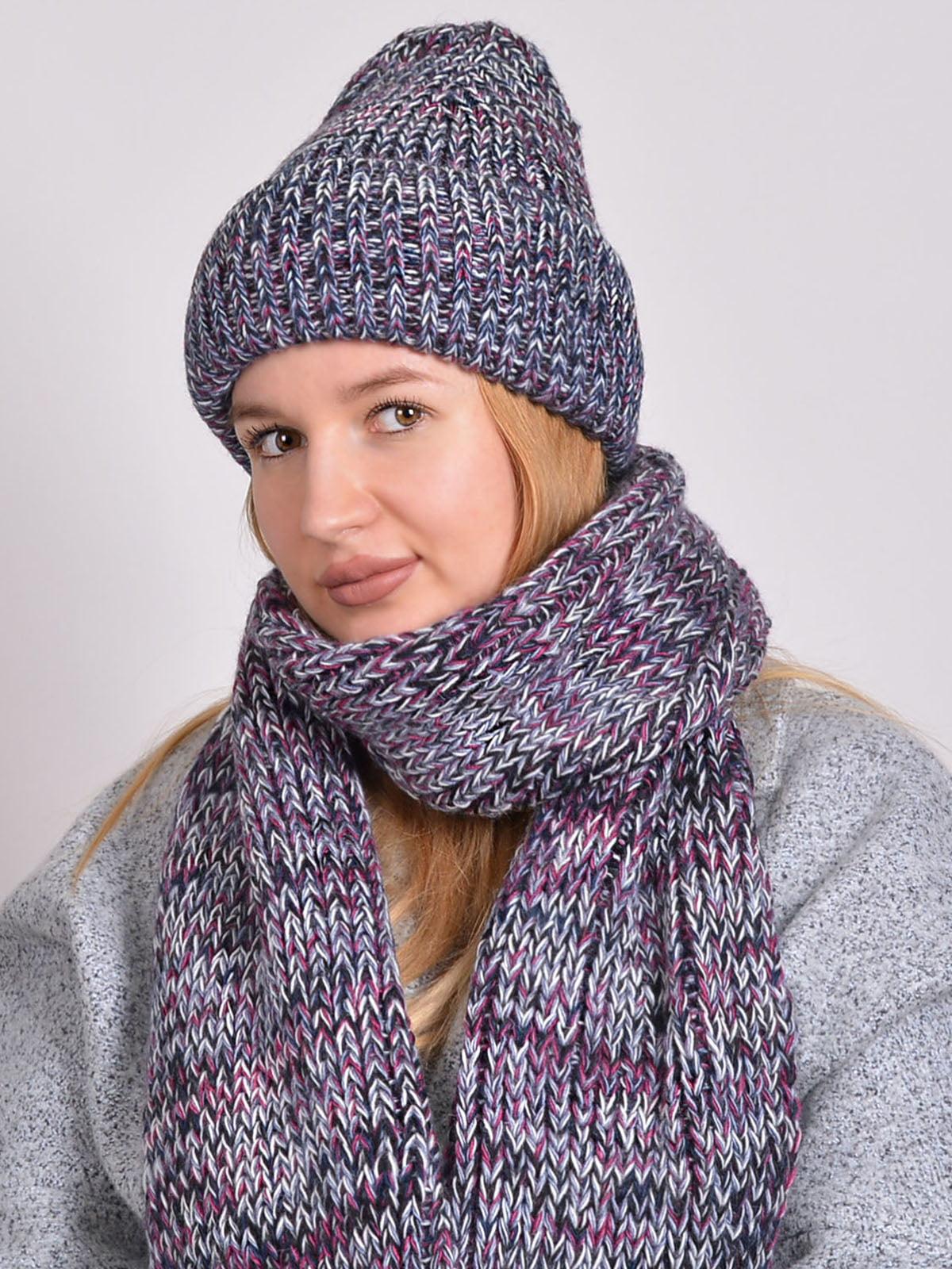 Комплект: шапка і шарф   5271861