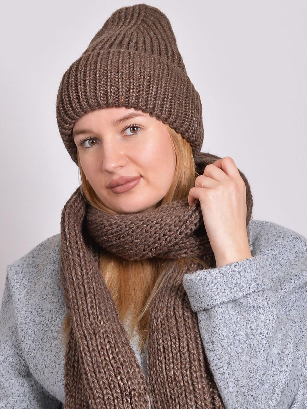 Комплект: шапка і шарф | 5271862