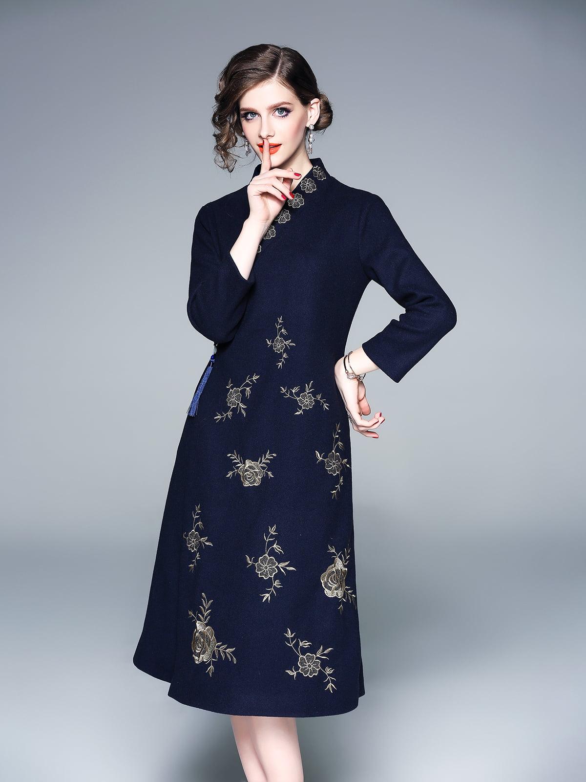 Сукня темно-синя | 5261456